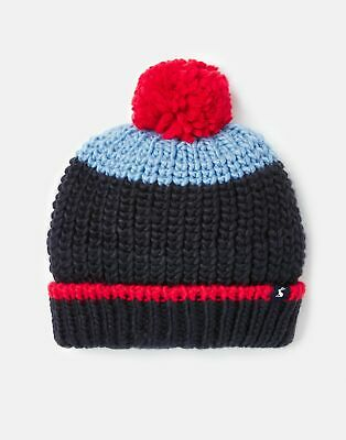 Joules  208954 Boys Hat in BLUE AND RED HAT