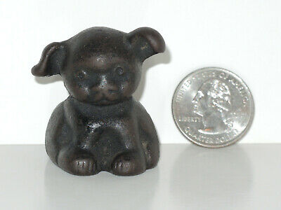 ANTIQUE VINTAGE (AUTHENTIC) INCISED HINES CAST IRON PUP BY GRISWOLD or HUBLEY