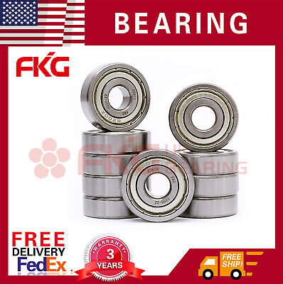 10x 693ZZ Miniature Ball Bearings 3*8*4mm Small Double Shielded Ball Bearing EKH