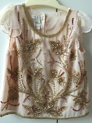 **Brand New** Monsoon Embellished Skirt And Top Set Age 3