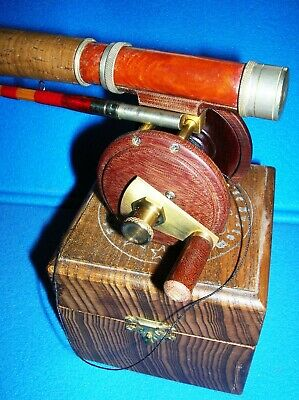 Mulinello pesca a mosca Fly reel vintage Collection fly reel