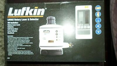 Lufkin rotary laser and detector LR502 Brand new