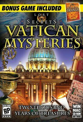 Lost Secrets: Vatican Mysteries AND Bermuda Triangle Hidden Object Computer Game