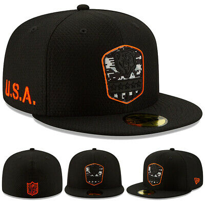 NEW 2019 New Era Chicago Bears Salute to Service Cap Hat 59FIFTY Fitted STS NWT