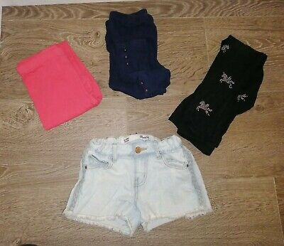 Girls Bundle 8-9 Years Leggings Demin Shorts Jasper Conran Bluezoo