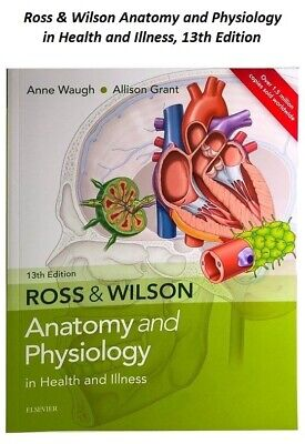 Ross and Wilson anatomy and physiology 13th Edition Book Adult Nursing Health
