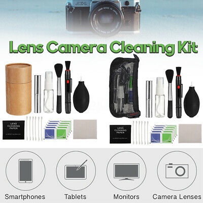 DSLR Lens Camera Cleaning Kit Blower Cleaner For Canon Nikon Sony Panasonic