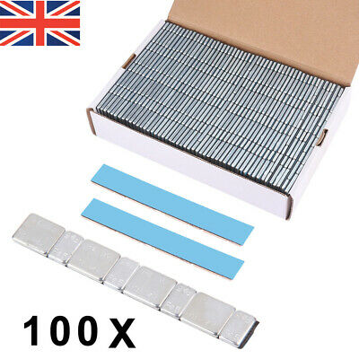 FAST POST Alloy or Steel Wheel ADHESIVE STRIPS 4x5g and 4x10g weights PER STRIP