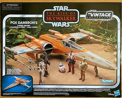 Star Wars The Vintage Collection Poe Dameron's X-Wing Fighter Toy Vehicle Sealed