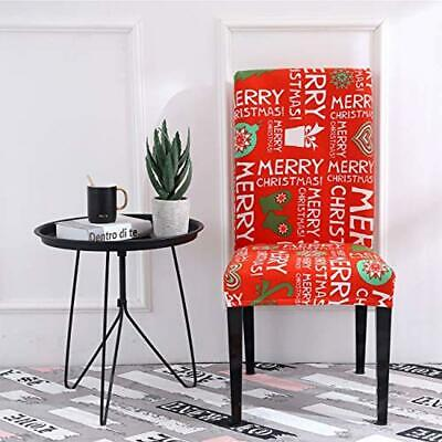 Christmas Dining Room Chair Covers - Removable - FREE Shipping