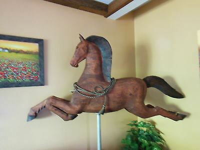 Custom ~ HORSE ~ CHAINSAW CARVING by DON COLP ~ VERY LARGE