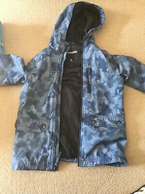Abercrombie and Fitch Boys Zipper Hoodie Jacket Coat Padded Sz XL