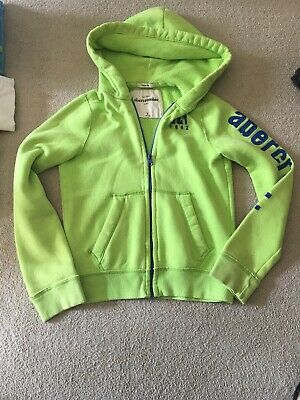 Abercrombie and Fitch Boys Zip Hoodie Sz L