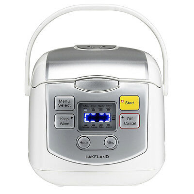 ** New ** Lakeland Multi Cooker, Rice, Slow Cooker,Cake & Yogurt Maker