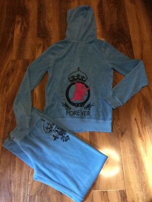 Juicy Couture Girls Tracksuit Aged 14 Years Old