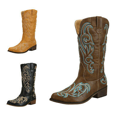 FREE SHIPPING SheSole Womens Western Cowboy Cowgirl Boots Vintage Bridal Shoes