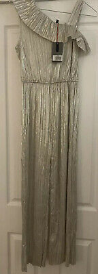 John Lewis Silver Jumpsuit Age 12 Perfect For Year 6 Formal