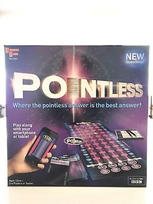 BBC Pointless Trivia Quiz TV Show Board Game Fast & Free P&P