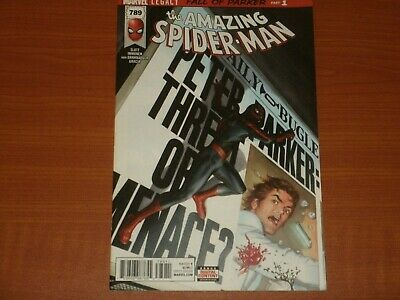 Marvel Comics:  The Amazing Spider-Man #789 Dec. 2017 'Fall Of Parker P1'