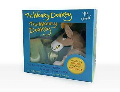 The Wonky Donkey Book & Toy Boxed Set by Craig Smith and Katz Cowley Paperback N