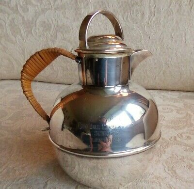 Sheffield Silver Co Vintage Silver Plate Small Pitcher Jug EPC CSGA Golf 1964 B2