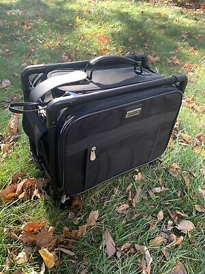 Tutto Black Sewing Embroidery Machine Trolley Case On Wheels