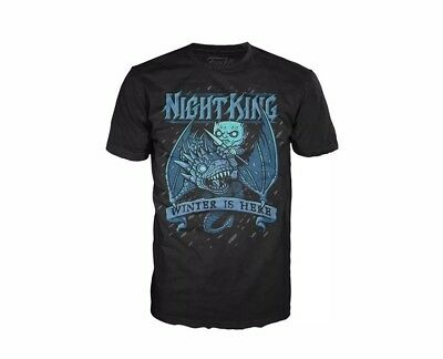Funko Pop Tees T-Shirt Size Xs Game Of Thrones Night King Winter Is Here
