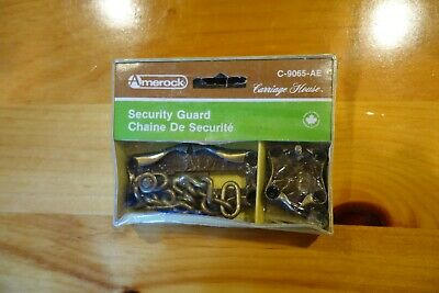 Vintage Amerock Carriage House Security Guard Chain New in Box