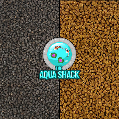Sinking Wheatgerm Pond Pellets - Winter Fish Food Koi Goldfish Tench Sturgeon