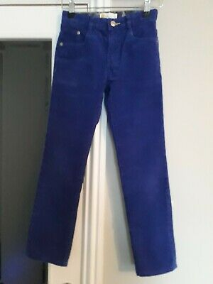 Boden Size 9 Years unisex Corded Trousers royal blue