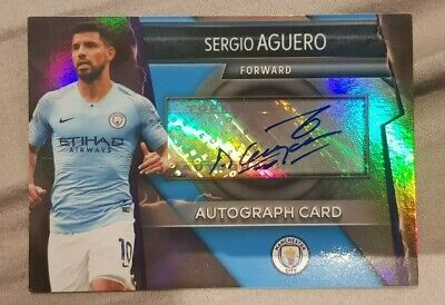 Match Attax ULTIMATE 2018/19 Sergio Aguero Man City AUTOGRAPH Card **VERY RARE**