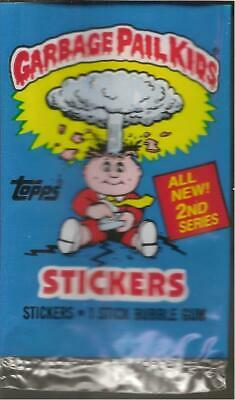 1985 Topps Uk Ireland Garbage Pail Kids 2Nd Series  Empty Wrapper