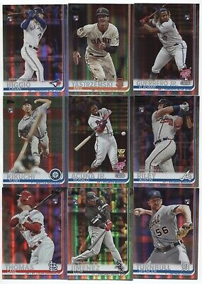 2019 Topps Update Series RAINBOW FOIL  YOU Pick Your Player US226-US300