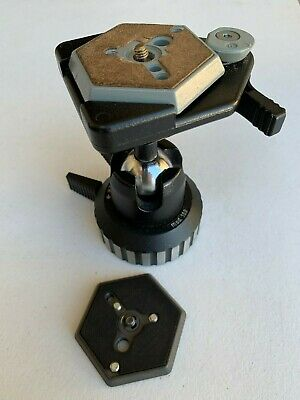 Manfrotto Pro Ball Head 168 + Extra QR Plate