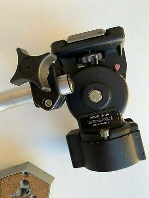 Manfrotto Fluid Head 136 + Extra QR Plate