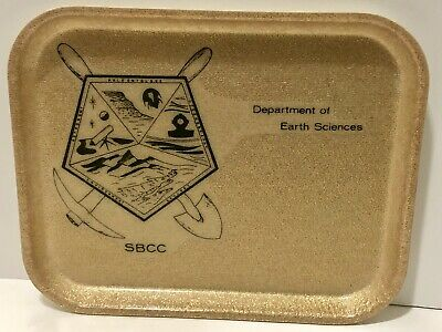 Vintage SBCC Earth Science Dept Tray Gold Mining
