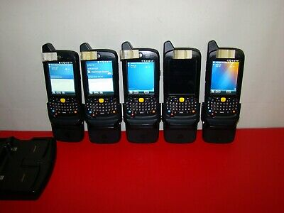 LOT OF 5 Motorola Symbol Zebra MC67 MC67ND MC67ND-PH0BAA00500 Barcode Scanner