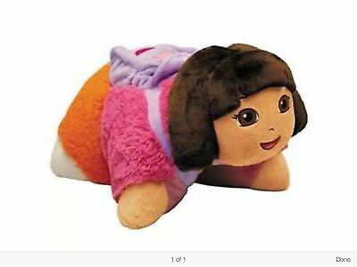 Nickelodeon Dora the Explorer With Back Pack Large Pillow Pet Very Cute