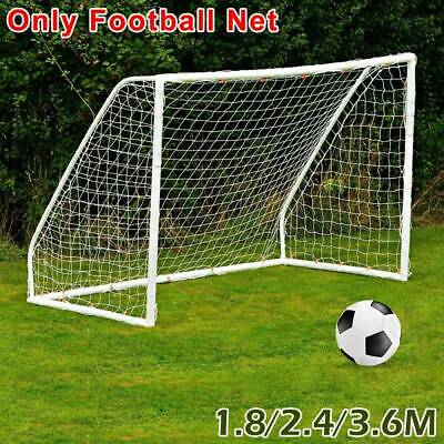 S-XL Football Soccer Goal Post Net For Kids Outdoor Football Match Training