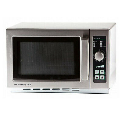 MenuMaster Light Duty Microwave Manual Control 1100W 34L Commercial Oven 10A