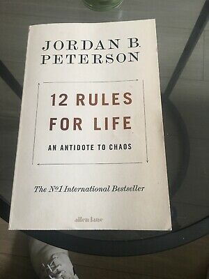 12 Rules for Life: An Antidote to Chaos by Peterson, Jordan B. 0241351634 The