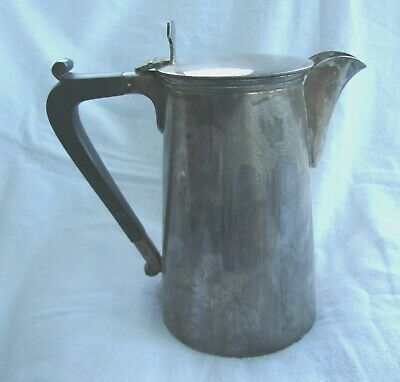 Antique Silver Plated Epns Hot Water Coffee Pot No:41191