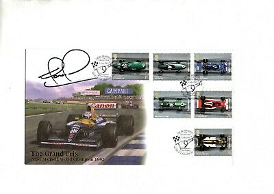 2007 Buckingham Covers - Grand Prix - Nigel Mansell World Champion FDC signed.