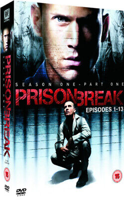 Prison Break: Season 1 - Part 1 DVD (2006) Dominic Purcell cert 15 4 discs