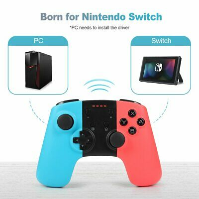 1/2Pcs Wireless Bluetooth Pro Game Controller Joycon For Nintendo Switch Console