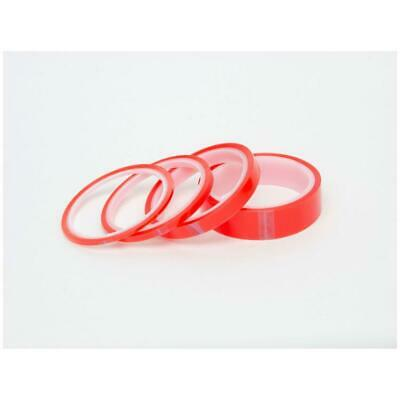 Red Liner Double Sided Super Sticky Strong Clear Craft Tape 5m x 6 12 & 25mm