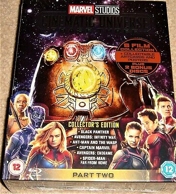 Marvel Phase 3: Part 2 Collectors Edition Blu Ray / WORLDWIDE SHIPPING