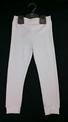MOTHERCARE Boys X2 Pack White Warm Thermal Long Johns Leggings 2-3 Years BNWT