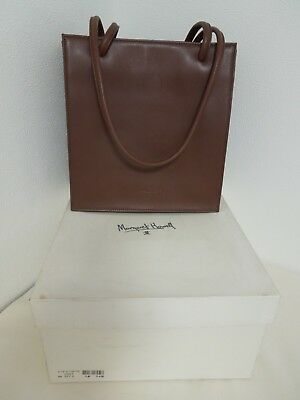 MHL Margaret Howell Brown Leather Bag with Box