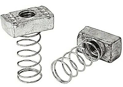 Thomas Betts A100 3/8 Superstrut Series 100 Steel Channel Spring Nut, Box of 87